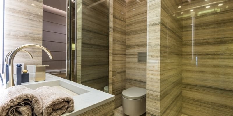 Contoh Implementasi Cubicle Toilet Di Tangerang