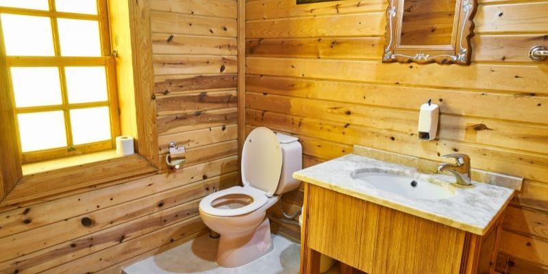 Contoh Toilet Kayu Dari Bekasi